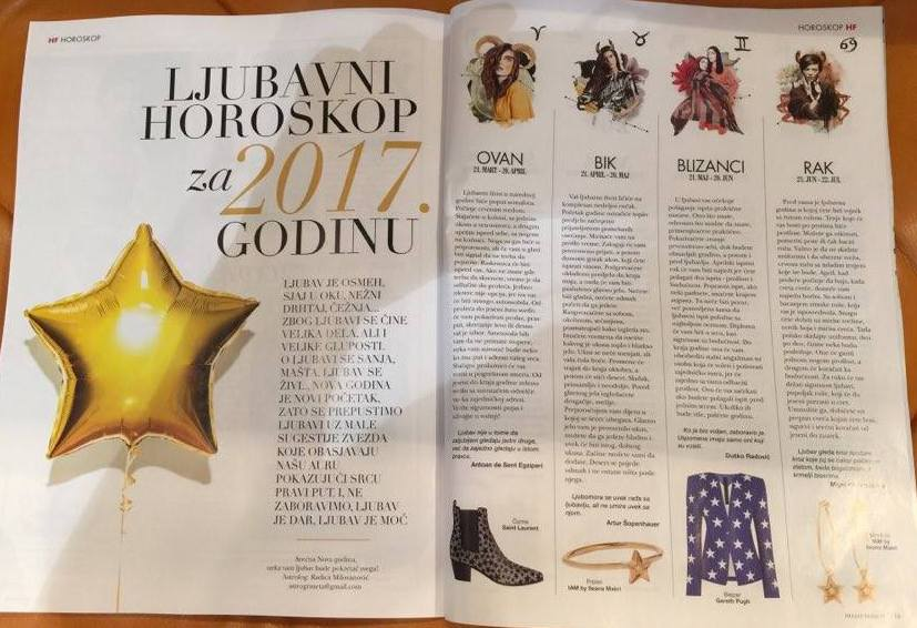 Zeleni Ljubavni horoskop za 2017. godinu